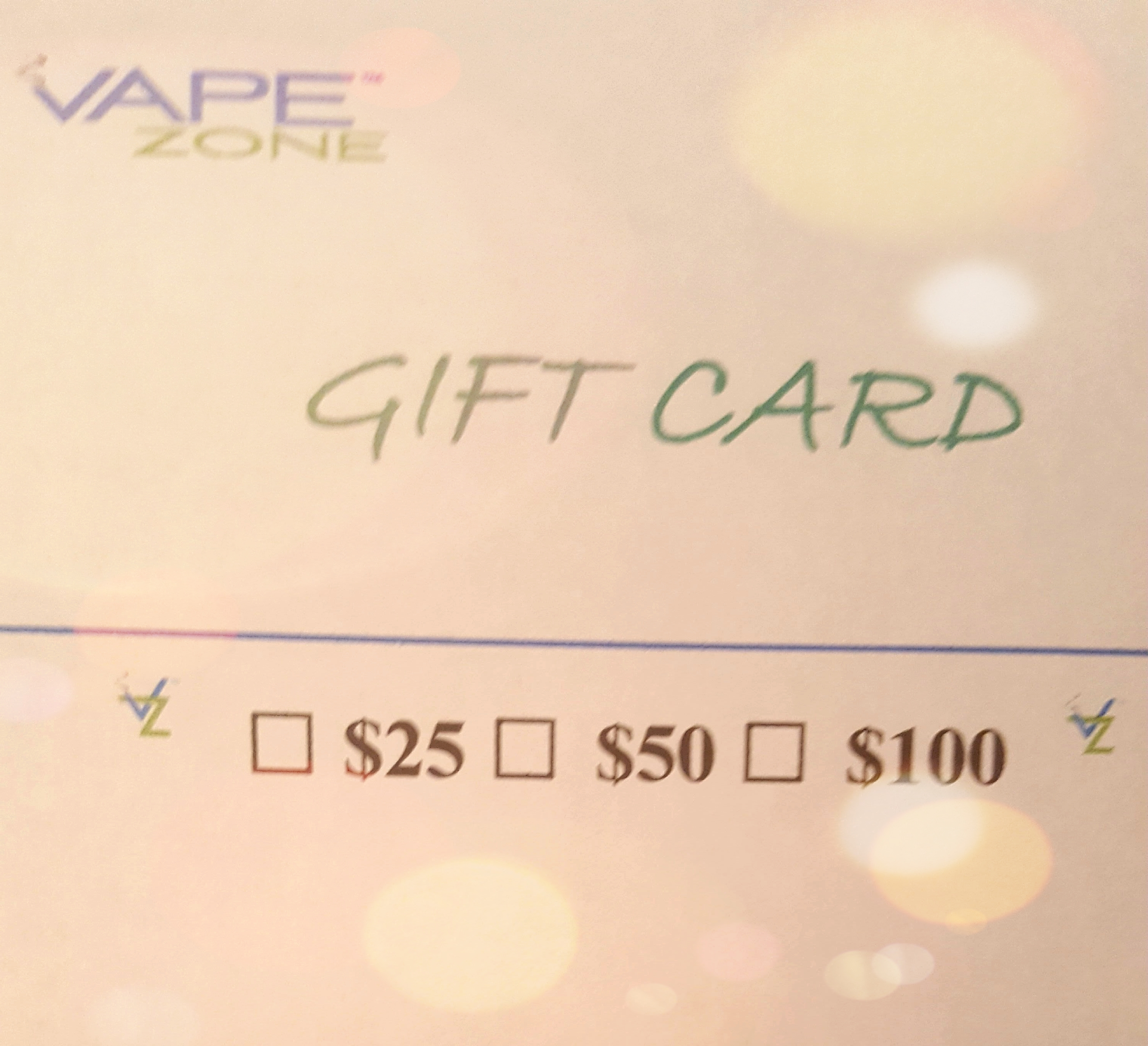 Vapezone gift certificates available vapezone vape e vapezones gift certificates xflitez Gallery