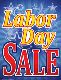 LABOR DAY SALE ~ FAMOUS 15% OFF TRADE-IN SALE!!