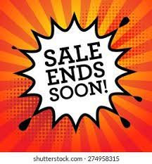 SALE ENDS SUNDAY, 9/19/2021 – DO NOT MISS IT!!!
